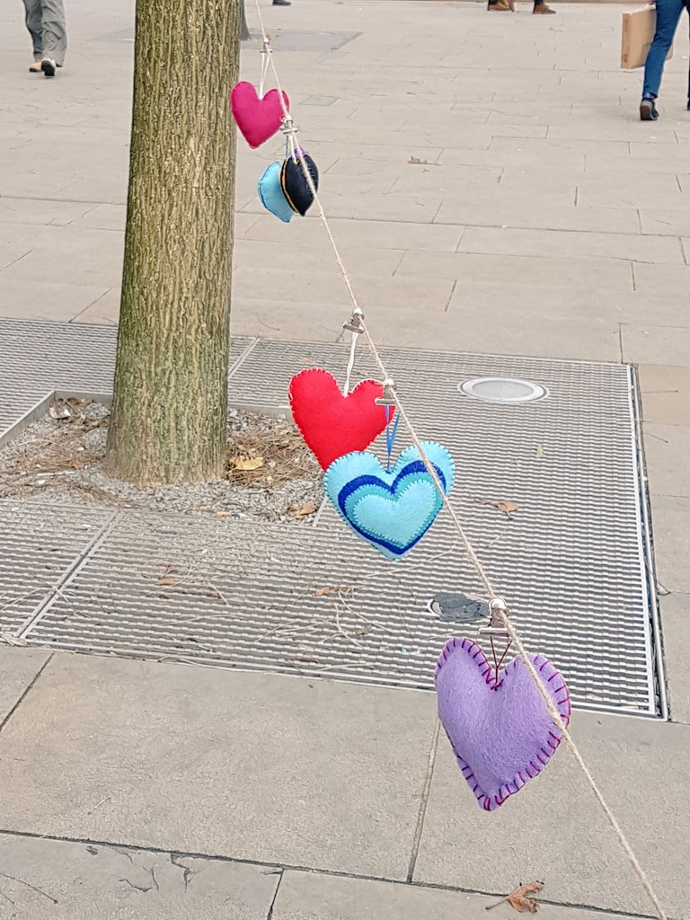 Hearts for Murdered Women